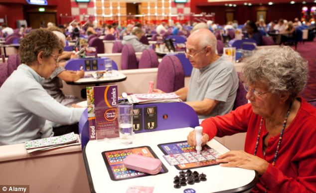 Traditionally, bingo was associated more with older people...but times have changed!